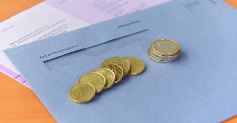 Belastingaangifte met euro's erop